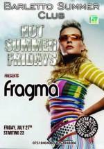 Concert Fragma în Barletto Summer Club din Bucureşti