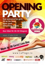 Opening Party în La Plage Club din Otopeni