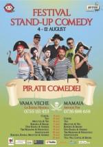 """Festivalul de Stand-Up Comedy """"Piraţii Comediei"""" 2012"""