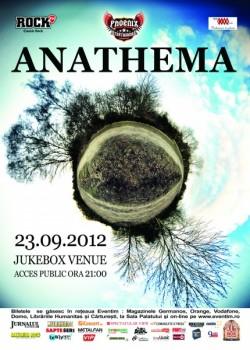 Concert Anathema în Jukebox Venue din Bucureşti