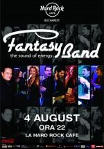 Concert Fantasy Band în Hard Rock Cafe din Bucureşti