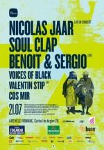 Nicolas Jaar, Soul Clap, Benoit & Sergio la Arenele Romane din Bucureşti