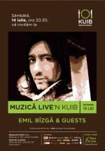 Concert Emil Bîzgă & Guests Live'n Kuib din Sinaia