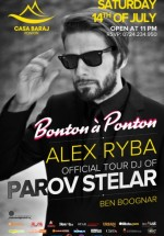 DJ Alex Ryba & Ben Boognar la Ponton Casa Baraj din Crivaia