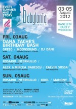 Party Weekend la Babylonia Beach din Mamaia