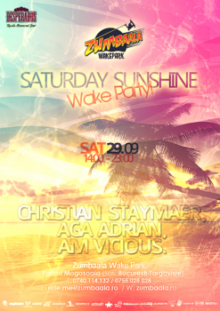 """Saturday Sunshine"" la Zumbaala Wake Park din Mogoşoaia"