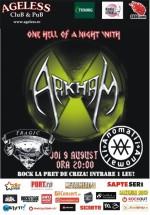 Concert Arkham în Ageless Club din Bucureşti