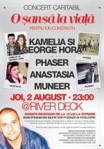 Concert caritabil în River Deck din Timişoara