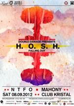 H.O.S.H. în Kristal Club din Bucureşti