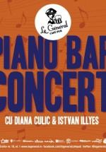 Concert cu Diana Culic şi Istvan Illyes în Le Général Café-Pub din Cluj-Napoca