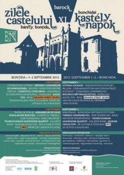 Zilele Castelului Banffy 2012 la Bonţida