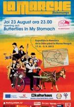 """Butterflies in My Stomach şi """"Le Marche"""" în Kulturhaus din Bucureşti"""