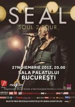 Concert Seal la Sala Palatului din Bucureşti – ANULAT