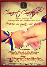 Concert caritabil în Tête-à-Tête din Bucureşti