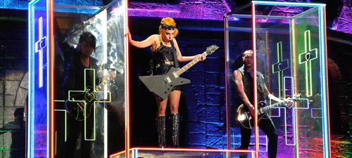 POZE: Lady Gaga la Bucureşti