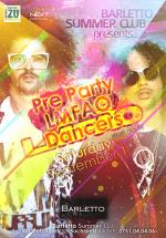 Pre-Party LMFAO Dancers în Barletto Summer Club din Bucureşti