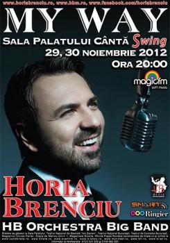 """Concert Horia Brenciu """"My Way"""" la Sala Palatului din Bucureşti"""