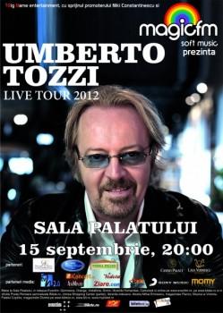 Concert Umberto Tozzi la Sala Palatului din Bucureşti – ANULAT
