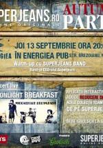 SuperJeans Autumn Party în Energiea din Bucureşti