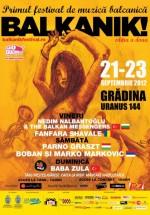 Balkanik! Festival 2012 în Grădina Uranus din Bucureşti
