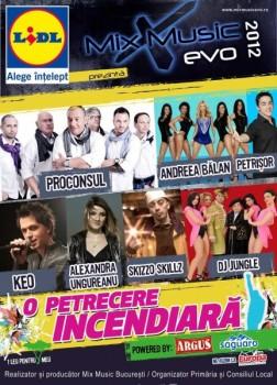 Mix Music Evo 2012 la Bucureşti