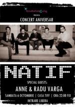 Concert Natif la Casa Tiff din Cluj-Napoca
