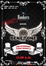 Benetone Band în The Bankers din Bucureşti