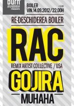 RAC, Gojira şi Muhaha în Boiler Club din Cluj-Napoca