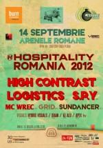 Hospitality Romania 2012 la Arenele Romane din Bucureşti.