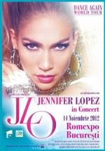 Concert Jennifer Lopez la Romexpo Bucureşti – AMÂNAT