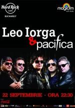 Concert Leo Iorga & Pacifica în Hard Rock Cafe din Bucureşti