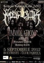 Concert Marduk & Immolation în Club Fabrica din Bucureşti