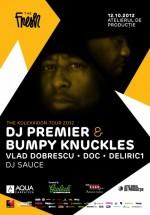 DJ Premier & Bumpy Knuckles în Atelierul de Producţie din Bucureşti