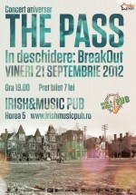 Concert The Pass în Irish & Music Pub din Cluj-Napoca