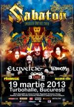 Concert Sabaton în Turbohalle din Bucureşti