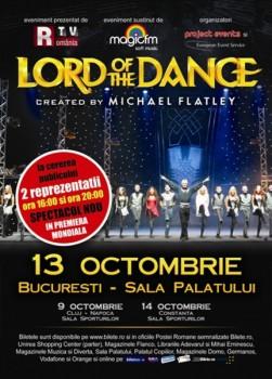 Turneu Lord Of The Dance în România