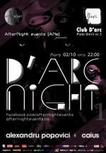 D'Arc Night în Club D'Arc din Timişoara
