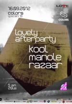 Kool, Manole şi Razaar în Colors Club din Bucureşti