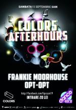 Frankie Moorhouse şi Opt-Opt în Colors Club din Bucureşti