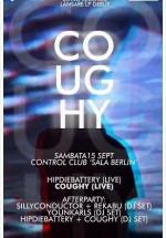 Lansare album Coughy în Control Club din Bucureşti