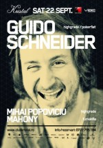 Guido Schneider în Kristal Club din Bucureşti