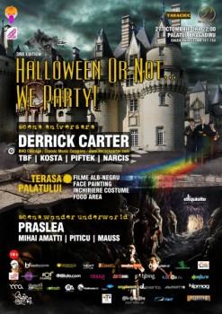 """""""Halloween or not… We party"""" la Palatul Bragadiru din Bucureşti"""