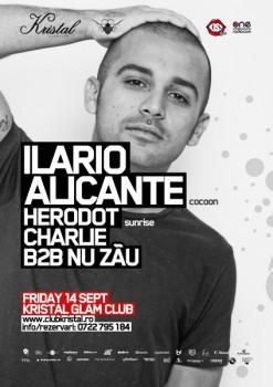 Ilario Alicante în Kristal Club din Bucureşti