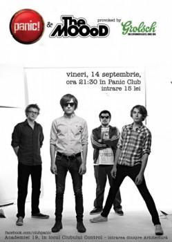 Concert The MOOoD în Panic! Club din Bucureşti