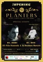 Reopening Party în Club Planters din Bucureşti