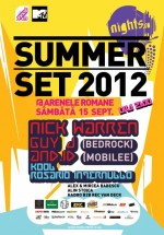 Summer Set 2012 la Arenele Romane din Bucureşti