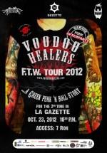 Concert Voodoo Healers în La Gazette din Cluj-Napoca