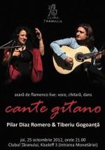 Pilar Diaz Romero şi Tiberiu Gogoanţă la Clubul Ţăranului din Bucureşti