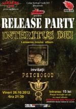 Lansare album Interitus Dei în Ageless Club din Bucureşti