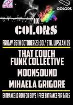 That Couch Funk Collective, MoonSound şi Mihaela Grigore în Colors Club din Bucureşti